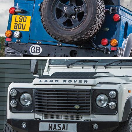 NAS LED Lights Land Rover Defender